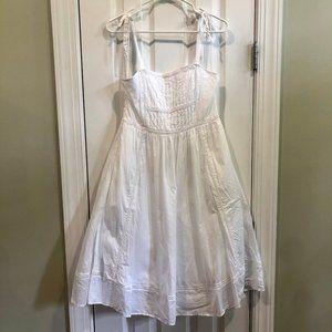 J.Crew / Point Sur White Cotton Dress
